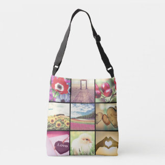 Your own picture crossbody bag
