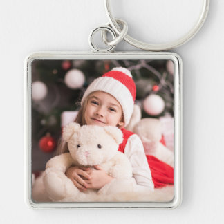 Your Personal Christmas Photo Keychain