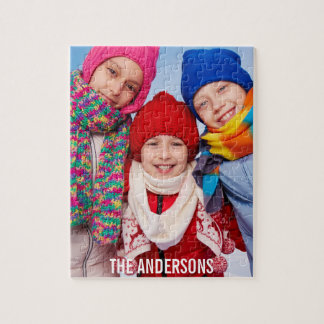 Your Personalized Kids Photo Puzzle L