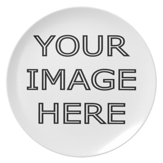Your Personalized Photo On a Plate