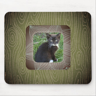 Your Pet Has Been Framed! Mouse Pad