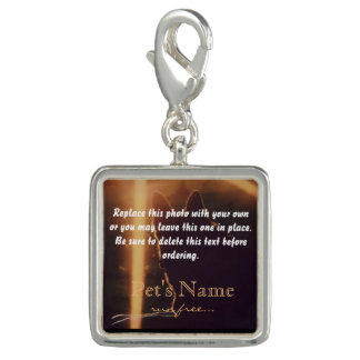 Your Pet Photo Pet Loss Memorial Charm