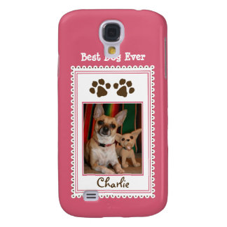 Your Pet's Photo Custom 3G (pink)