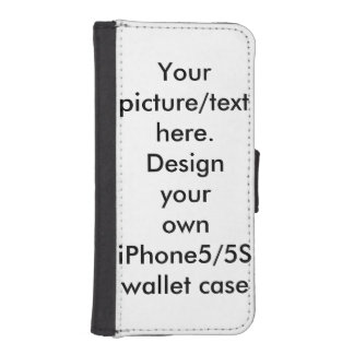 Your photo, art, text iPhone5/5s wallet case
