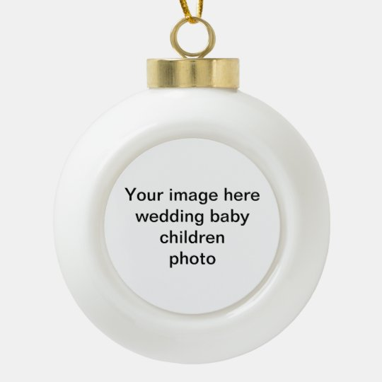 Your photo  Christmas Tree Ornament
