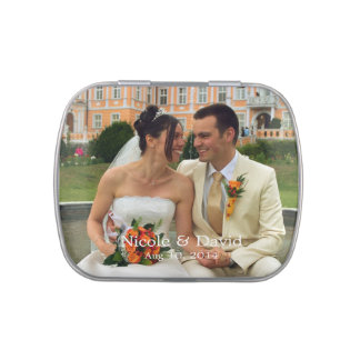 Your photo here personalized wedding favour