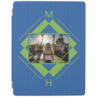 YOUR Photo & Monogram device covers iPad Cover