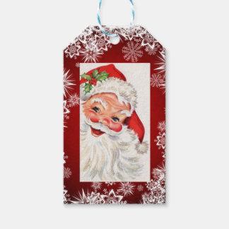 YOUR PHOTO & Name Set of 10 Big Christmas Holiday Gift Tags
