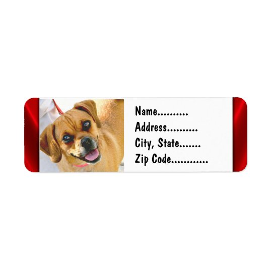 Your Photo On Custom Return Address Labels