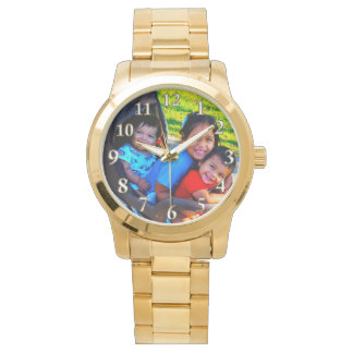 YOUR PHOTO Watch, INSTRUCTIONS or Call Linda Wristwatches