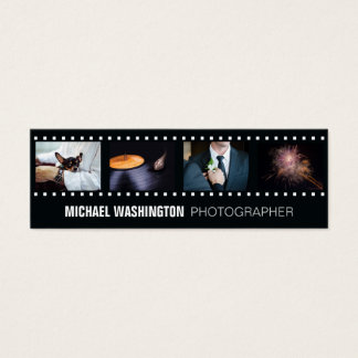 YOUR PHOTOS custom photographer business cards