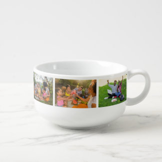 YOUR PHOTOS custom soup mug
