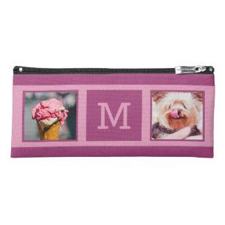 YOUR PHOTOS & MONOGRAM custom pencil case