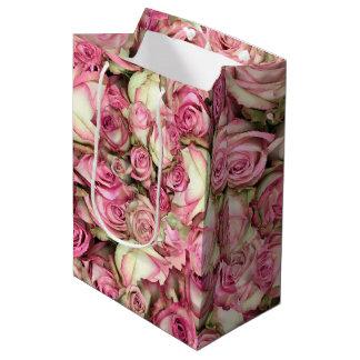 Your Pink Roses Medium Gift Bag