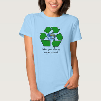 Your Planet. What goes around comes around. T Shirts