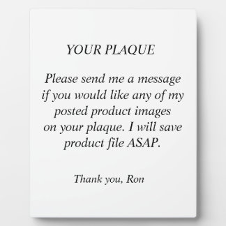 Your Plaque Request