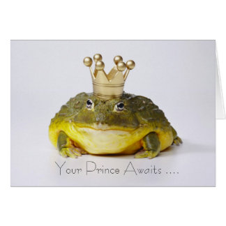 Your Prince Awaits ... Card
