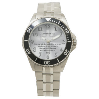 YOUR SCRIPTURE Christian Watch for Men or Women