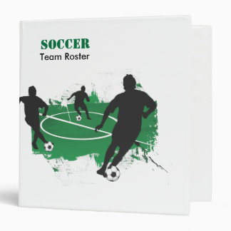 Your Soccer Team Binder