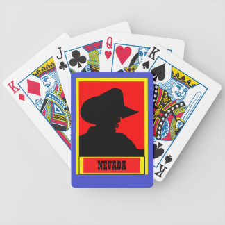 Your State Cowboy Bicycle Playing Cards
