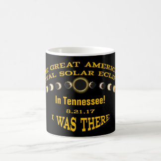 YOUR STATE | I was There | Solar Eclipse Stages Coffee Mug