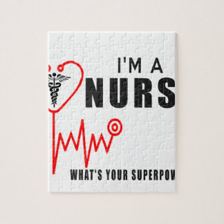 Your superpower nurse jigsaw puzzle