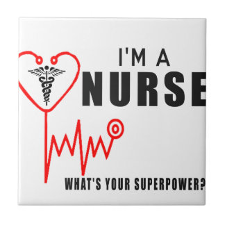 Your superpower nurse tile