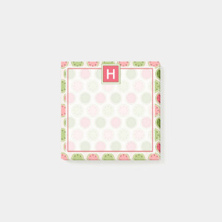 Your Text | Cute Watermelon Pattern Post-it Notes