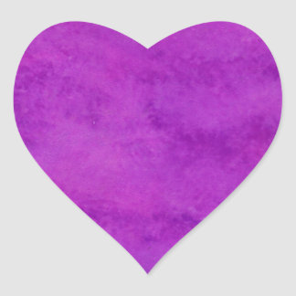 Your text here Purple Wash Background Heart Sticker
