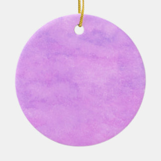 your text pink purple back ground ceramic ornament