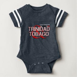 (Your Text) Trinidad and Tobago Baby Bodysuit
