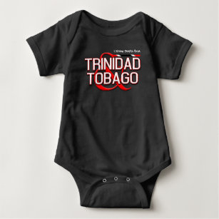 (Your Text) Trinidad and Tobago Baby Bodysuit