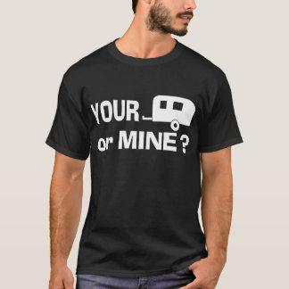 Your Trailer or Mine - Dark T shirt
