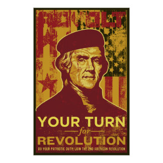 Your Turn for Revolution Poster