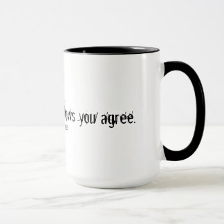 Your very silence shows you agree mug