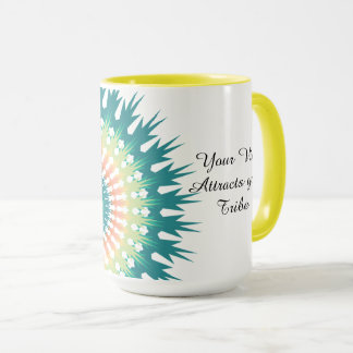 Your Vibe Attracts your Tribe Spiritual Quote Cup