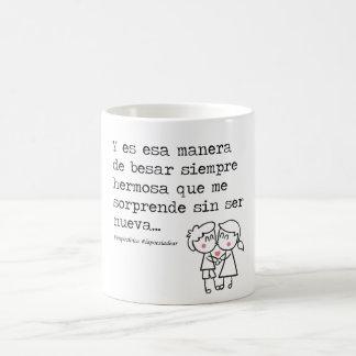 Your way to kiss coffee mug