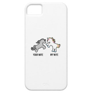 Your Wife My Wife Unicorn Case For The iPhone 5