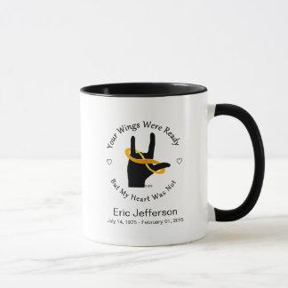 Your Wings Were Ready 11oz Ringed Coffee Mug