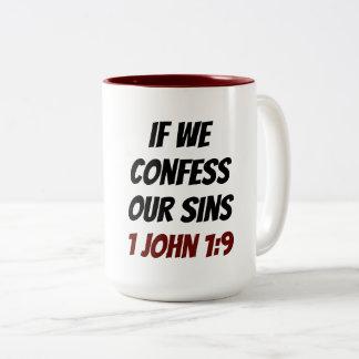 Your Witness Two-Tone Mug
