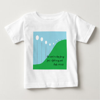 Your Word is a Lamp Baby T-Shirt