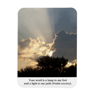 Your Word is a Lamp Fingers of God Magnet