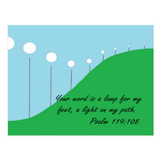 Your Word is a Lamp Postcard