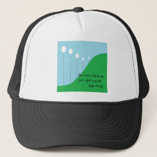 Your Word is a Lamp Trucker Hat