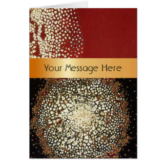 Your Words on Ceramic Glazes Card