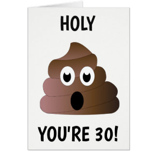 YOU'RE 30 CARD