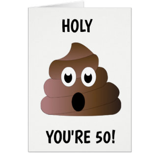YOU'RE 50 CARD