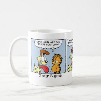 """You're a Cat"" Garfield Comic Strip Coffee Mug"