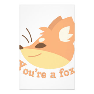 Youre A Fox Stationery