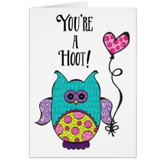 You're a Hoot Card